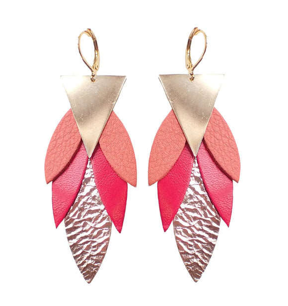 Boucles d'oreilles Maya Bloody Mary