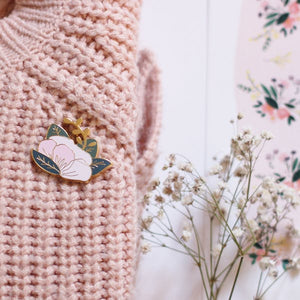 Pin's Fleur My lovely Things