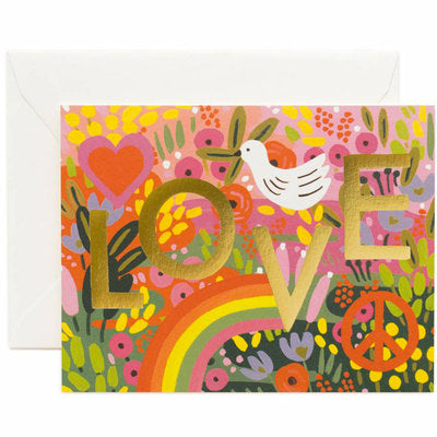Carte postale All you need is love - Rifle paper