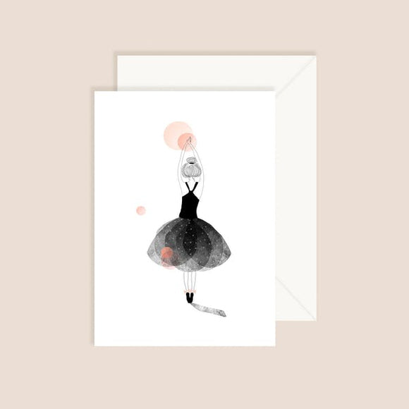 Carte postale Ballerine My Lovely Things