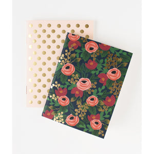 Set deux carnets Rifle Paper