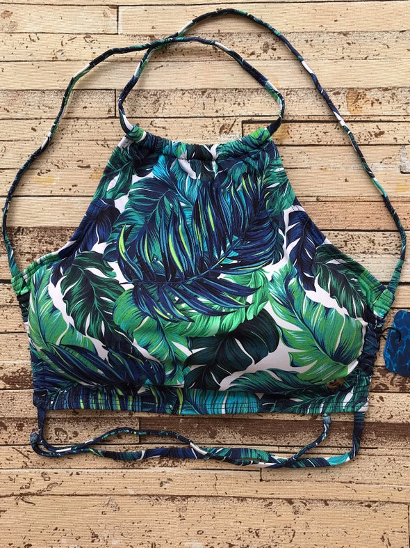 Cropped Top Leafy Life
