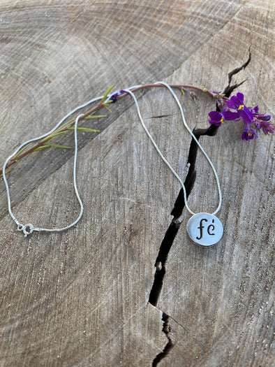 Silver 925 Necklace - Word of Wisdom