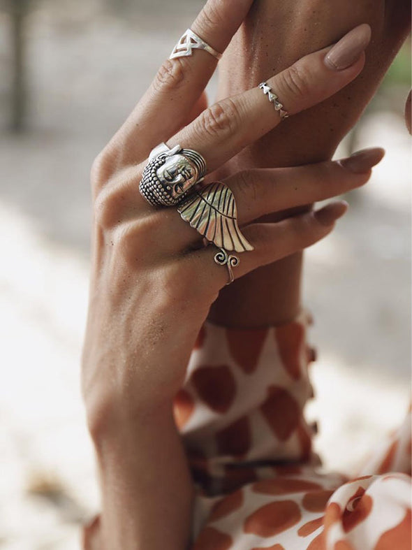 Silver 925 Ring - Wings