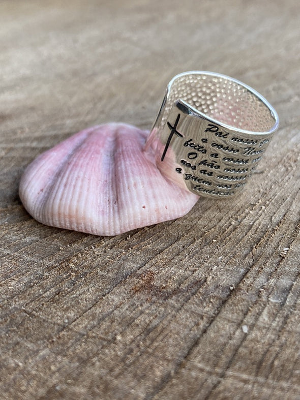 Silver 925 Ring - Prayer Ring