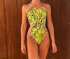 RETRO FLOWERS ONE PIECE