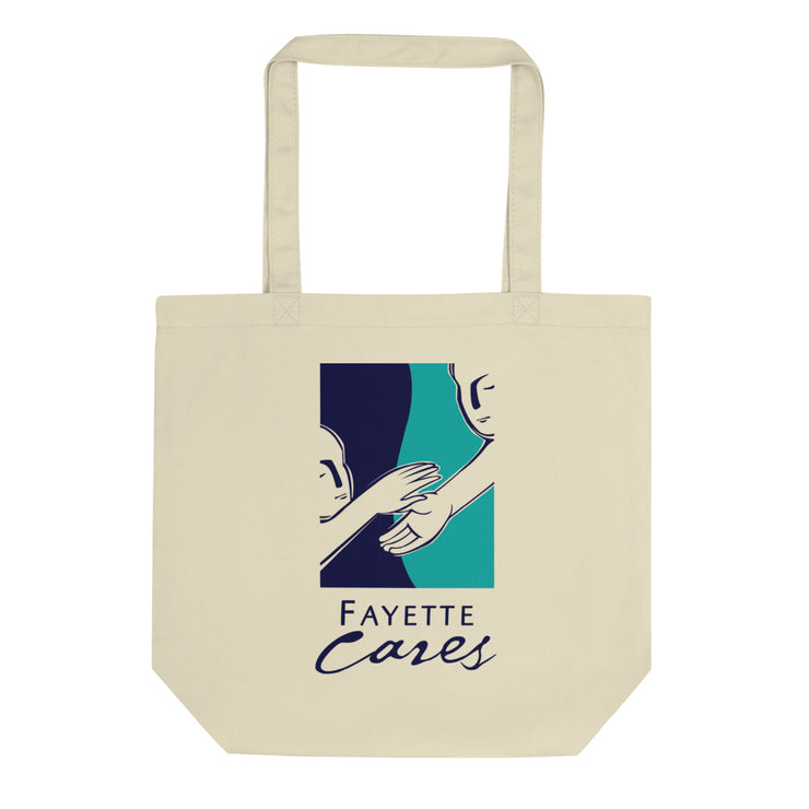 Eco Tote Bag - Vertical Logo