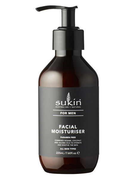 Sukin for Men Facial Moisturiser - 225ml