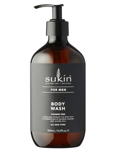 Sukin for Men Body Wash - 500ml