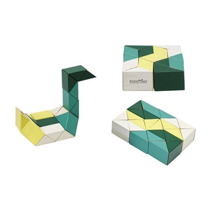 Areaware Coloured Snake Blocks - Various Sizes and Colours