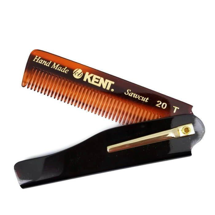 Kent Fine-Toothed Folding Comb