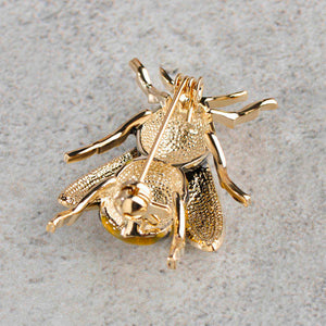 Enamel Bee Pin