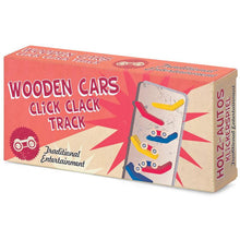 Load image into Gallery viewer, Wooden Click Clack Cars