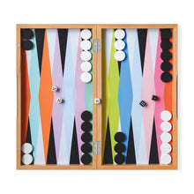 Load image into Gallery viewer, MoMA Colourplay Backgammon Set