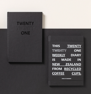 Made of Tomorrow Weekly Diary - Black