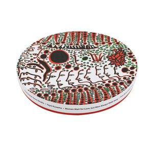 Yayoi Kusama Women Wait for Love Plate