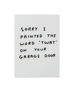David Shrigley Twat Magnet