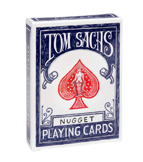 Tom Sachs Nugget Playing Cards