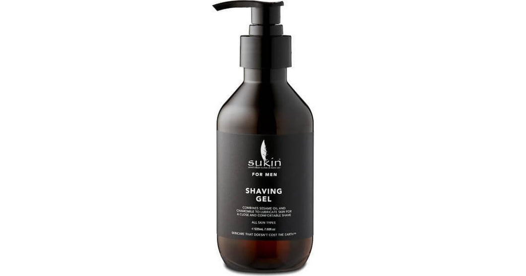 Sukin for Men Shaving Gel - 225ml