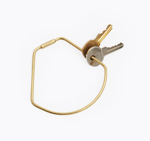 Areaware Contour Key Ring - Bell