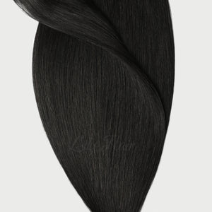 #1 Jet Black Color Hair Tape In Hair Extensions