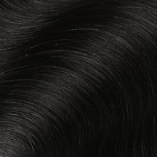Load image into Gallery viewer, #1 Jet Black Color Hair Tape In Hair Extensions