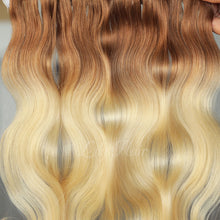 Load image into Gallery viewer, #12/613 Ombre Color Fusion Hair Extensions