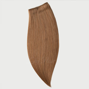 #12 Brown Sugar Color Clip-in hair Extensions-11pc.