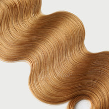 Load image into Gallery viewer, #16 Butterscotch Color Hair Tape In Hair Extensions