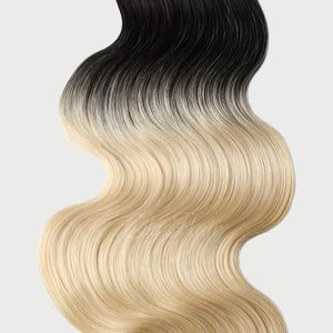 #1B/613 Ombre Color Halo Hair Extensions