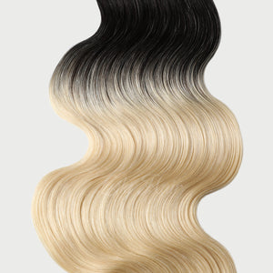 #1B/613 Ombre Color Hair Tape In Hair Extensions