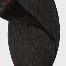 Load image into Gallery viewer, #1B Espresso Black Color Micro Ring Hair Extensions