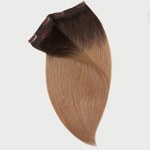 #2/12 Ombre Color Clip-in hair Extensions-11pc.
