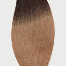 Load image into Gallery viewer, #2/12 Ombre Ombre Color Halo Hair Extensions