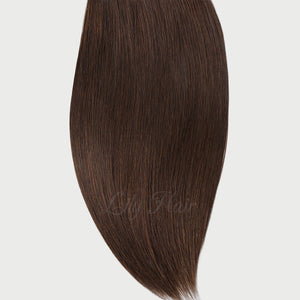 #2/4 Highlights Color Micro Ring Hair Extensions