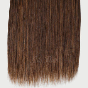 #2/6 Highlights Color Fusion Hair Extensions