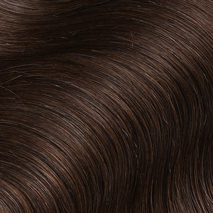 #2 Dark Chocolate Color Fusion Hair Extensions