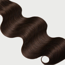 Load image into Gallery viewer, #2 Dark Chocolate Color Fusion Hair Extensions