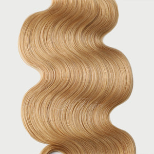 #26 Golden Blonde Color Clip-in hair Extensions-11pc.