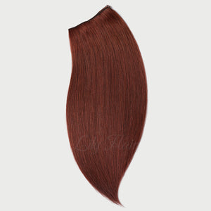 #33B Vibrant Auburn Color Clip-in hair Extensions-11pc.