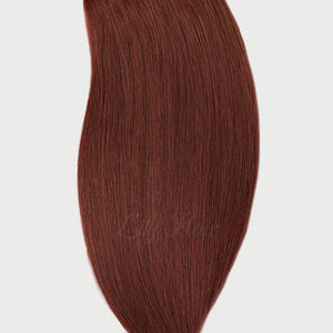 #33b Vibrant Auburn Color Halo Hair Extensions