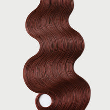 Load image into Gallery viewer, #33b Vibrant Auburn Color Fusion Hair Extensions