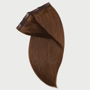 #6 Cappuccino Color Clip-in hair Extensions-11pc.