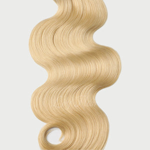#613 Lightest Blonde Color Halo Hair Extensions