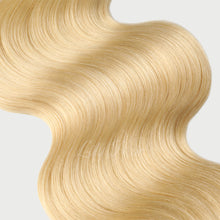 Load image into Gallery viewer, #613 Lightest Blonde Color Fusion Hair Extensions