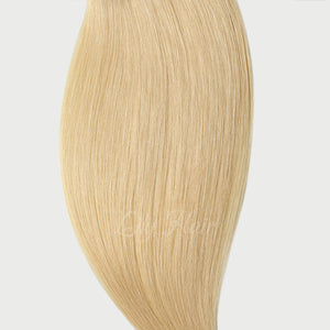 #613 Lightest Blonde Color Fusion Hair Extensions