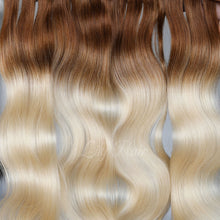 Load image into Gallery viewer, #8/613 Ombre Color Micro Ring Hair Extensions