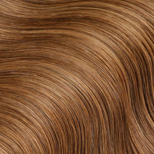 Load image into Gallery viewer, #8 Toffee Brown Color Micro Ring Hair Extensions