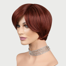 Load image into Gallery viewer, Aisha 100% Human Hair Pixie Monofilament Wigs #33B