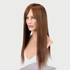 Beatrice 100% Human Hair Monofilament Wigs #6
